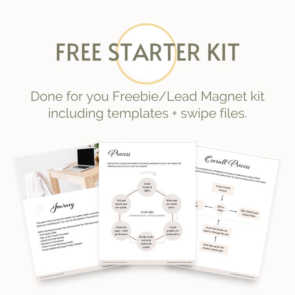 Starter Kit - Cheryl McDonald - Concept to Digital