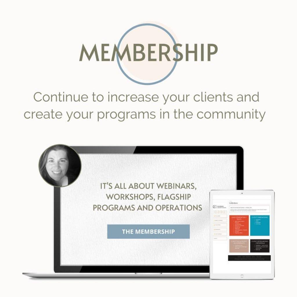The Membership - Cheryl McDonald - Concept to Digital